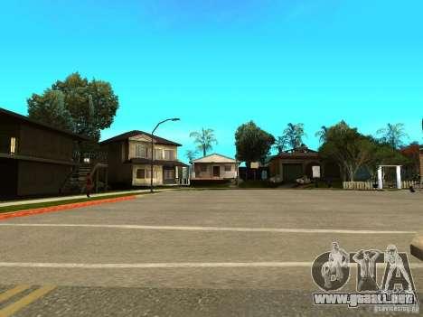 New Grove Street TADO edition para GTA San Andreas sexta pantalla