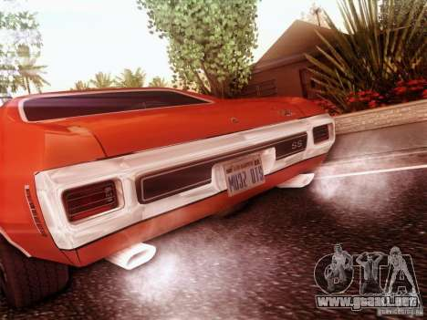 Chevy Chevelle SS 1970 para GTA San Andreas left