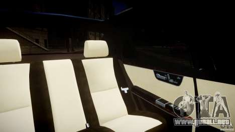 Mercedes-Benz S600 Guard Pullman 2008 para GTA 4 vista lateral