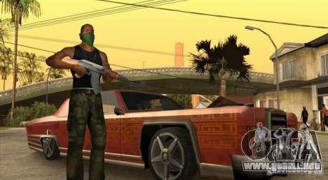 Wars Zones para GTA San Andreas tercera pantalla