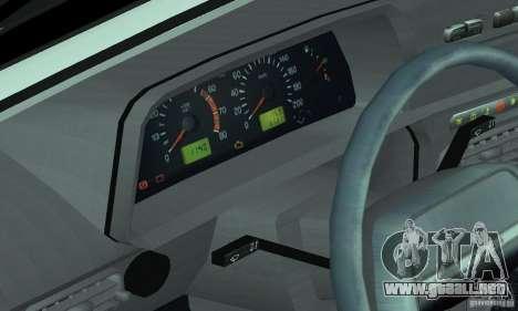 ВАЗ 2114 Tuning para la vista superior GTA San Andreas