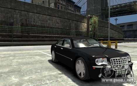 Chrysler 300C para GTA 4 vista hacia atrás