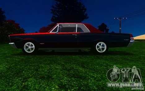 Pontiac GTO 1965 FINAL para GTA 4 left