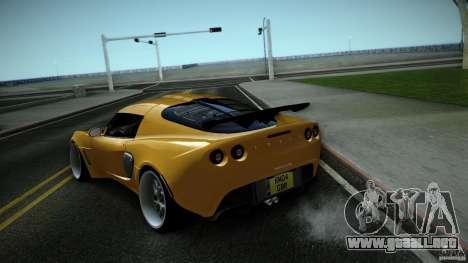 Lotus Exige Track Car para la visión correcta GTA San Andreas