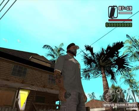 Granada de Xenus 2 para GTA San Andreas tercera pantalla
