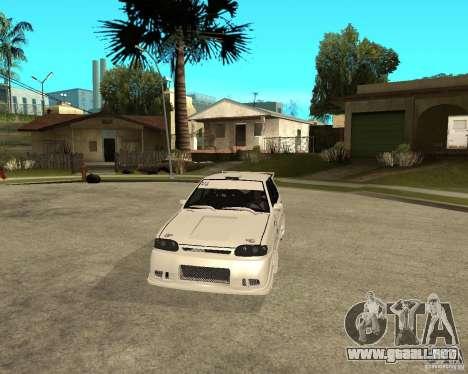 ВАЗ 2114 Mechenny para GTA San Andreas vista hacia atrás