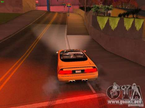 Infernus Revolution para la vista superior GTA San Andreas