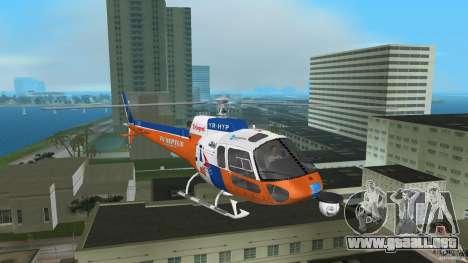 Eurocopter As-350 TV Neptun para GTA Vice City left