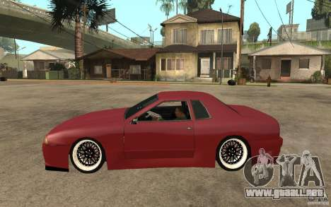 Elegy Modified para GTA San Andreas left