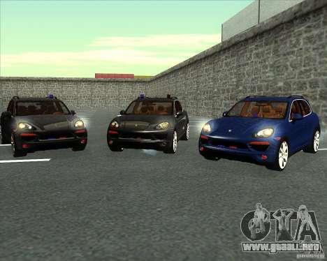 Porsche Cayenne 958 v1.1 para vista lateral GTA San Andreas