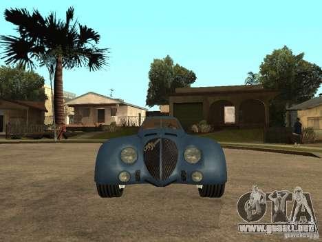Alfa Romeo 2900B LeMans Speciale 1938 para la visión correcta GTA San Andreas