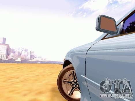 Toyota Mark II JZX90 para GTA San Andreas vista posterior izquierda