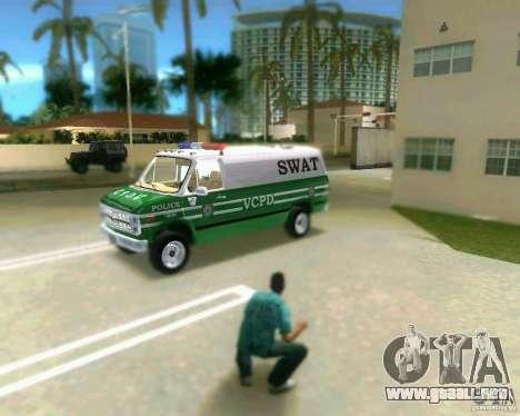 Chevrolet Van G20 para GTA Vice City left