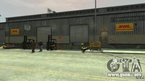 DHL-Port para GTA 4 quinta pantalla