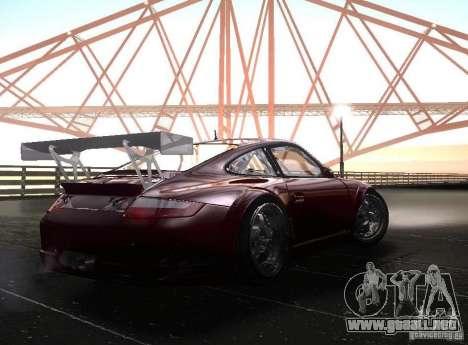 Porsche 911 GT3 RSR RWB para la visión correcta GTA San Andreas