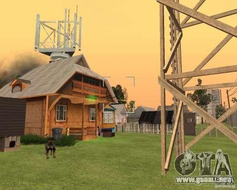 Base Gareli para GTA San Andreas sucesivamente de pantalla