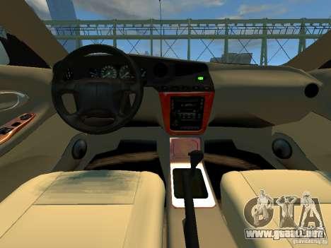 Daewoo Leganza CDX para GTA 4 vista hacia atrás