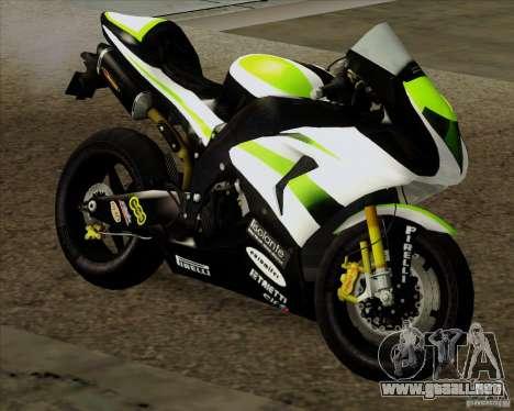 Kawasaki ZX-10R para GTA San Andreas