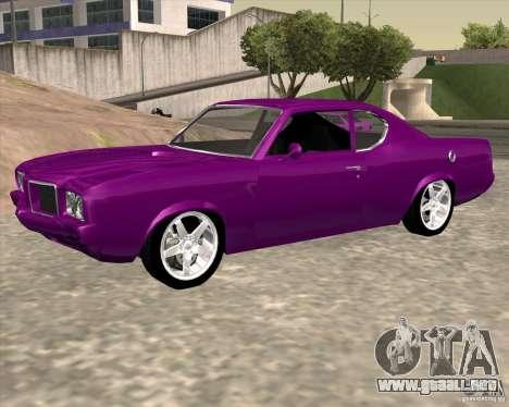 Oldsmobile 442 (Flatout 2) para GTA San Andreas