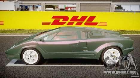 Lamborghini Countach v1.1 para GTA 4 left