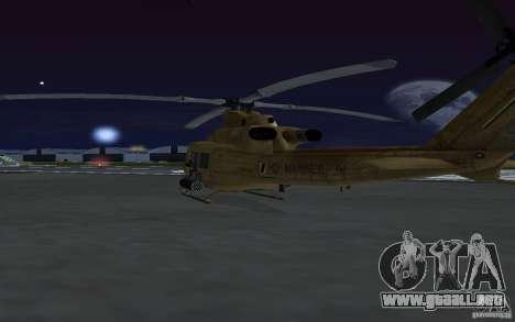 UH-1Y Venom para visión interna GTA San Andreas