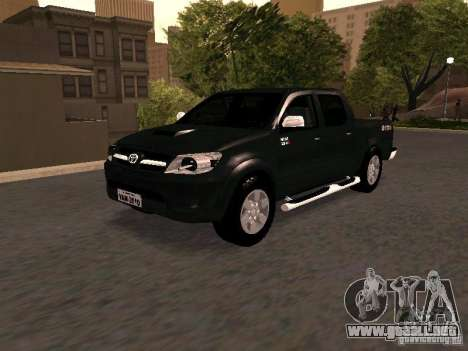 Toyota Hilux SRV 3.0 4X4 Automatica para GTA San Andreas