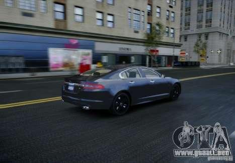 Jaguar XFR 2010 V.2.0 para GTA 4 vista lateral