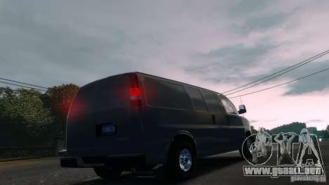 GMC Savana 2500 v1.0 para GTA 4 left