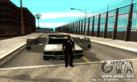 Police Hero v2.1 para visión interna GTA San Andreas