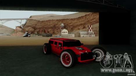 Hummer H2 The HumROD para la visión correcta GTA San Andreas