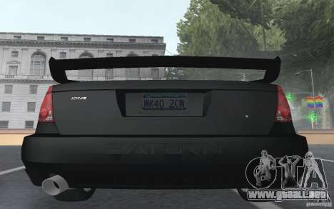 Saturn Ion Quad Coupe para el motor de GTA San Andreas
