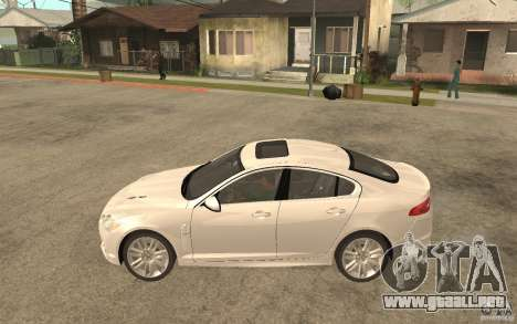 Jaguar XFR para GTA San Andreas left