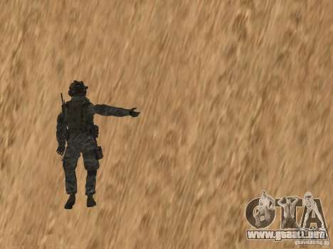 Animations v1.0 para GTA San Andreas quinta pantalla