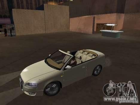 Audi A4 Convertible v2 para GTA San Andreas