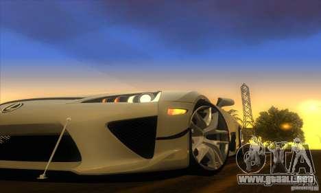 ENB Graphics by KINOman para GTA San Andreas