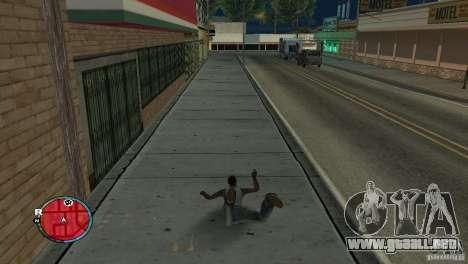 GTA IV HUD para una pantalla ancha (16:9) para GTA San Andreas segunda pantalla