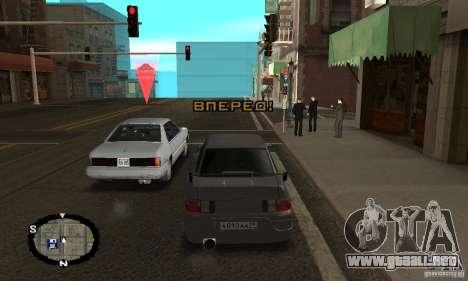 Carreras callejeras para GTA San Andreas