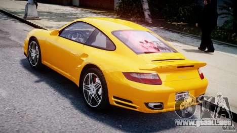 Porsche 911 Turbo V3.5 para GTA 4 Vista posterior izquierda