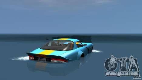 Banshee Boat para GTA 4 Vista posterior izquierda