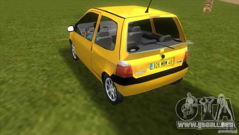 Renault Twingo para GTA Vice City left