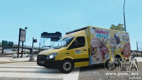 Mercedes-Benz Family Frost para GTA 4 left