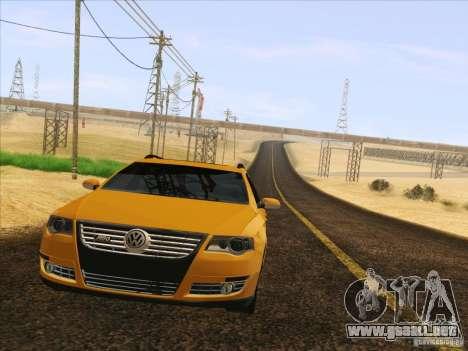 Volkswagen Passat B6 Variant para la vista superior GTA San Andreas