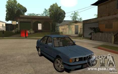 BMW E34 535i 1994 para GTA San Andreas vista hacia atrás