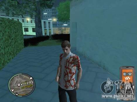 Tony Montana para GTA San Andreas sexta pantalla