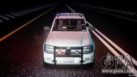 Chevrolet Trailblazer Police V1.5PD [ELS] para GTA 4 vista desde abajo