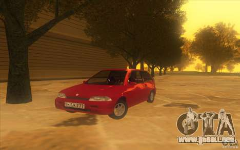 Suzuki Swift GLX 1.3 para GTA San Andreas