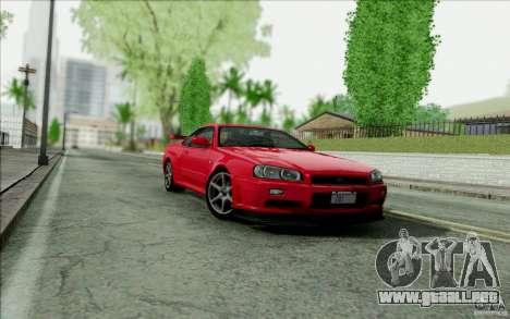 SA_DirectX 1.3 BETA para GTA San Andreas quinta pantalla