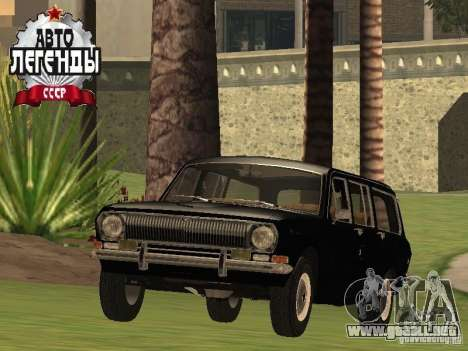 Stoke GAZ 24-02 para GTA San Andreas