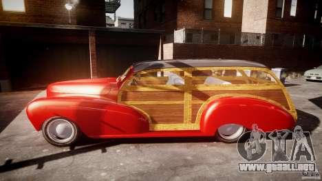 Chevy Fleetmaster Woody Kustom 1948 para GTA 4 vista interior