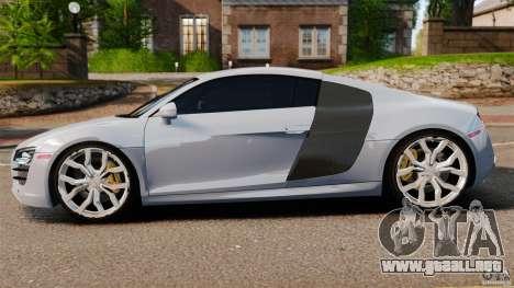 Audi R8 5.2 Stock 2012 Final para GTA 4 left